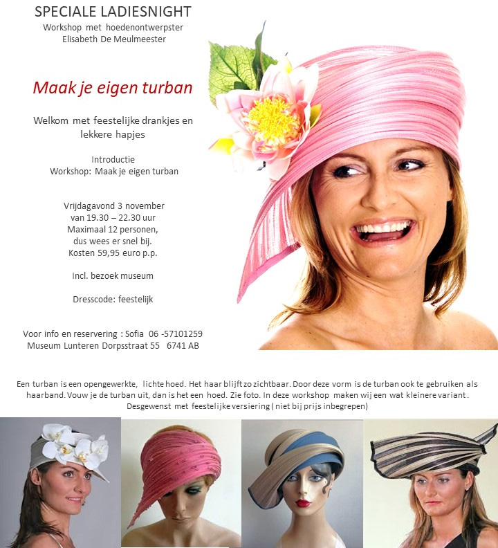 Workshop eigen turban maken